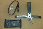 EAST GERMAN BAYONET ACCESSORY SET. INCLUDES ALL PARTS PICTURED