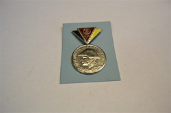"EAST-GERMAN MEDAL MARKED ""RESERVIST DER NATIONALEN VOLKSARMEE"".
