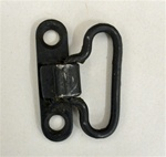 CHINESE SLING SWIVEL(SIDE MOUNTED). USED. TAKE OFF. FITS ON RIFLES WITH SLING SWIVEL HOLES ON SIDE OF BUTTSTOCK AND NOT BOTTOM.