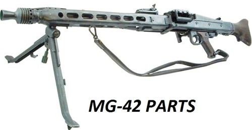 Buy MG42 Parts at Desert Fox Sales | MG42 Parts for Sale | Parts Kits